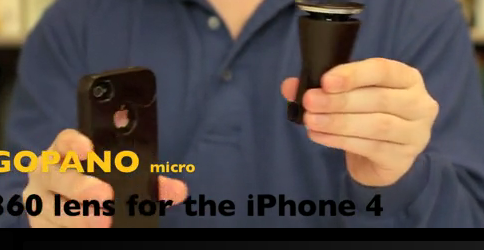 Capture d'écran 2011 04 27 à 15.49.27 GoPano micro   Faites des vidéos à 360° avec votre iPhone 4