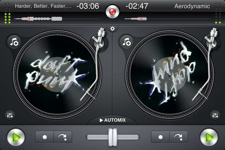 IMG 0907 Test de Djay   mixez où vous voulez sur iPhone (7,99€, en promo à 0,79€)