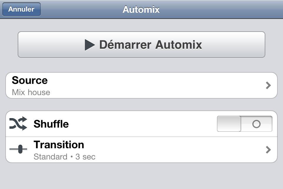 IMG 0911 Test de Djay   mixez où vous voulez sur iPhone (7,99€, en promo à 0,79€)