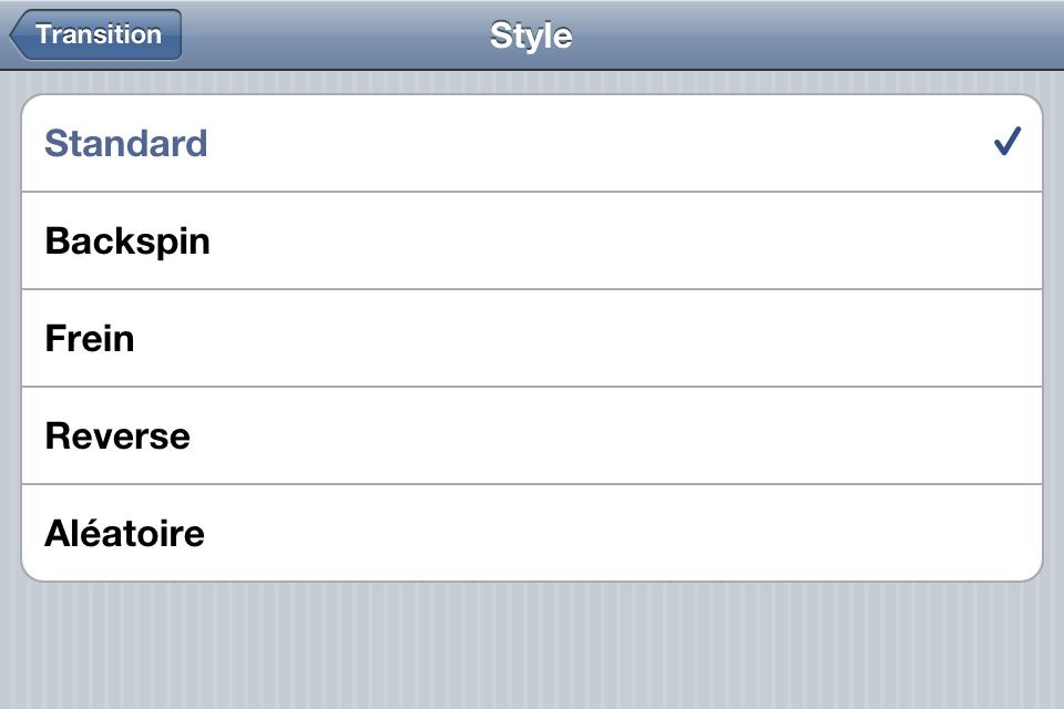 IMG 0912 Test de Djay   mixez où vous voulez sur iPhone (7,99€, en promo à 0,79€)