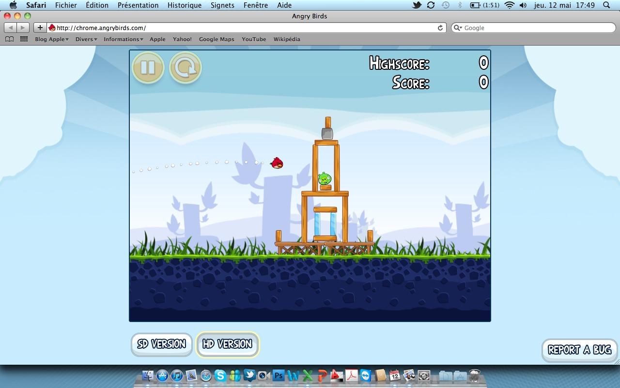 Angry Birds jeu internet Angry Birds gratuitement sur votre ordinateur grâce à une version internet