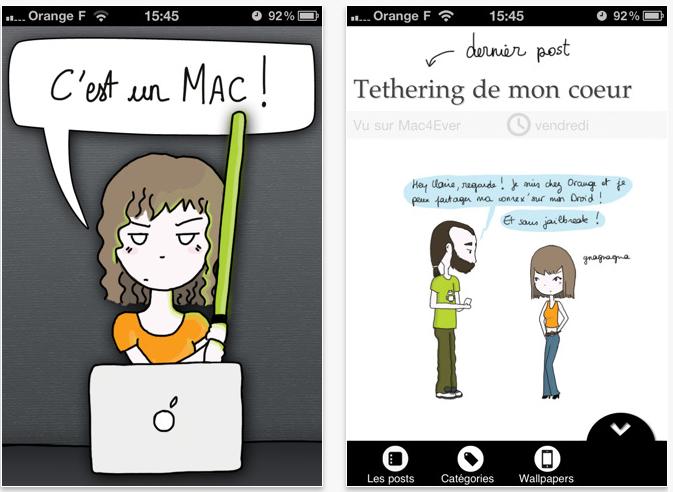 Capture d'écran 2011 05 05 à 17.38.23 Application : Cest PAS un PC (Gratuit) est enfin disponible sur iPhone