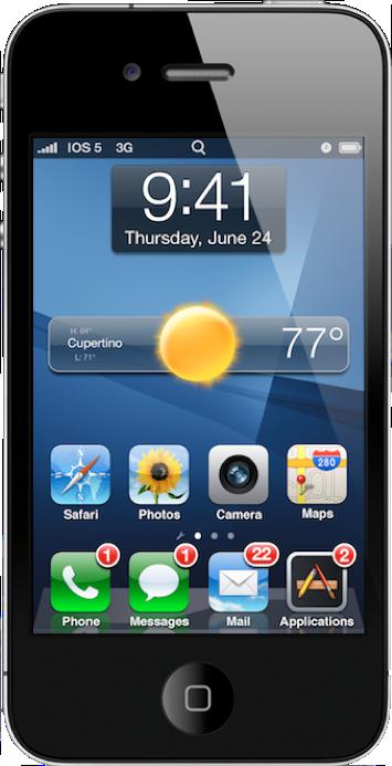 Capture d'écran 2011 05 30 à 19.37.24 iOS5 : Des widgets au programme ? Les différents concepts en images