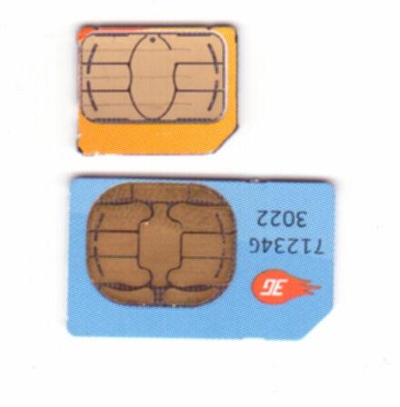 Cartes sim Après la Micro Sim, Apple voudrait adopter la Mini sim