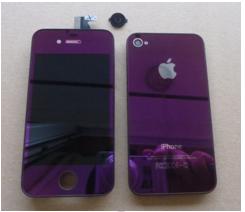 Coque violette Changer votre iPhone de couleur !
