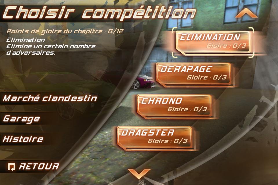 IMG 0949 Test de Fast And Furious 5 [Officiel]    Des Courses déjantées sur votre iPhone (3,99€)