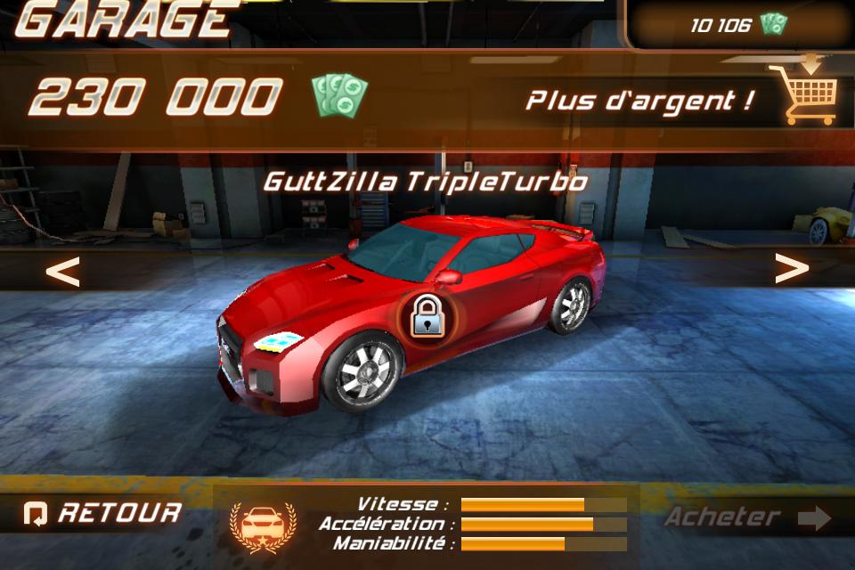 IMG 0965 Test de Fast And Furious 5 [Officiel]    Des Courses déjantées sur votre iPhone (3,99€)