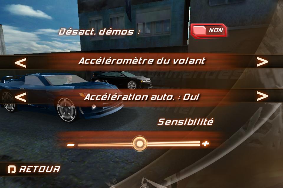 IMG 0971 Test de Fast And Furious 5 [Officiel]    Des Courses déjantées sur votre iPhone (3,99€)