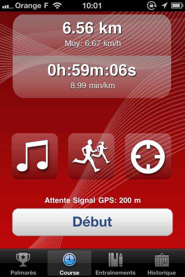 IMG 0981 10 codes à gagner de 321Run, votre compagnon running (4,99€)