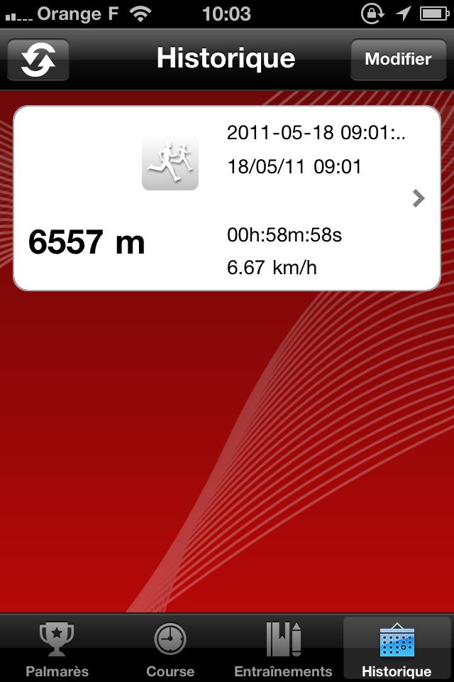 IMG 0984 10 codes à gagner de 321Run, votre compagnon running (4,99€)