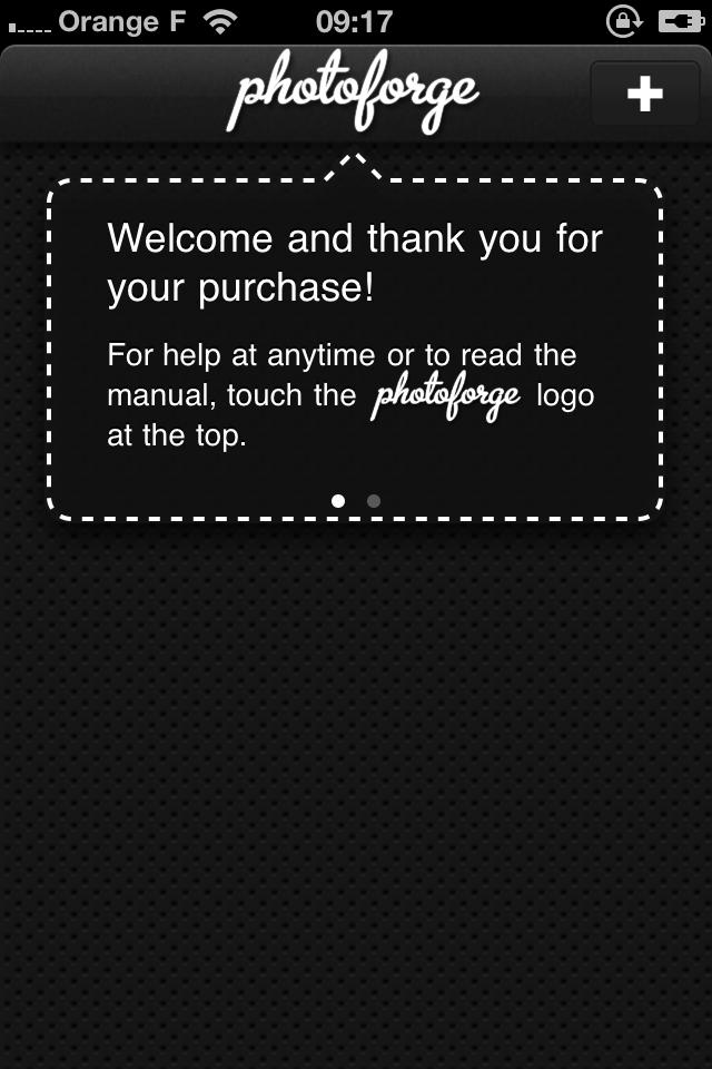IMG 0988 2 codes de Photoforge2, le Photoshop de liPhone (2,39€)