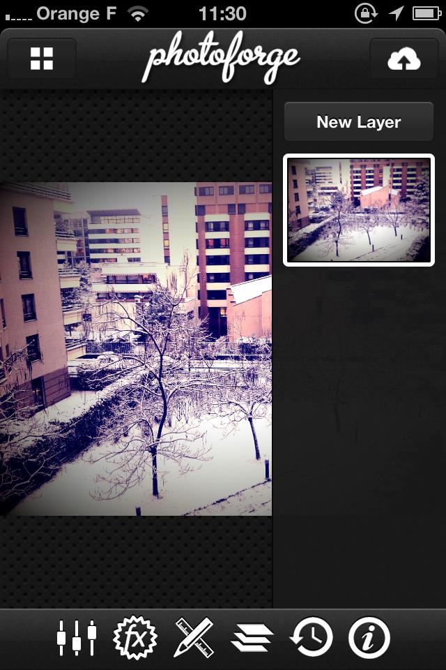 IMG 1011 2 codes de Photoforge2, le Photoshop de liPhone (2,39€)
