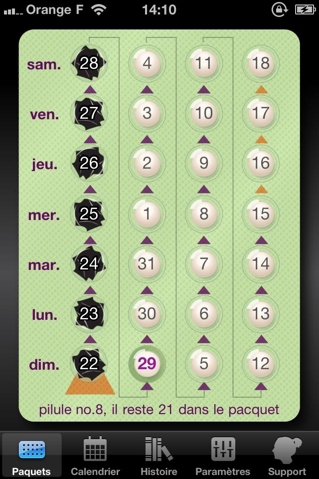 IMG 1065 [Test] MyPill, prenez la pilule sans stress (1,59€)