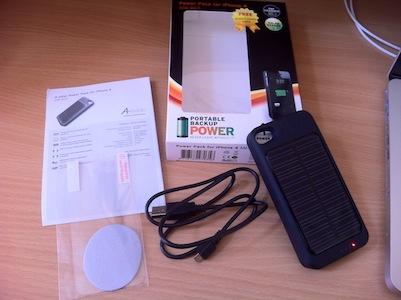 IMG 11211 [Test] Power Pack pour iPhone 4   La coque baterie solaire