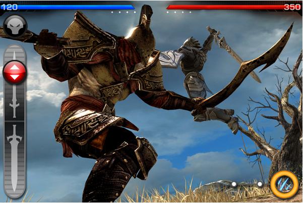 Infinity Blade Arena 1 Le mode multi joueurs dinfinity Blade est enfin disponible !