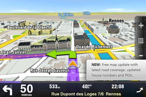 Navigation 3D 4 codes à gagner Sygic Aura (29,99€) : un très bon GPS concurrent de TomTom et Navigon