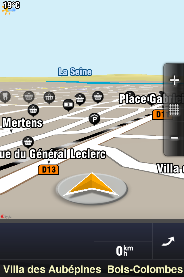 Navigation 4 codes à gagner Sygic Aura (29,99€) : un très bon GPS concurrent de TomTom et Navigon