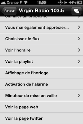 Option Radio1 4 codes à gagner Tuneln Radio (0,79€)   la meilleure application de Radio pour iPhone