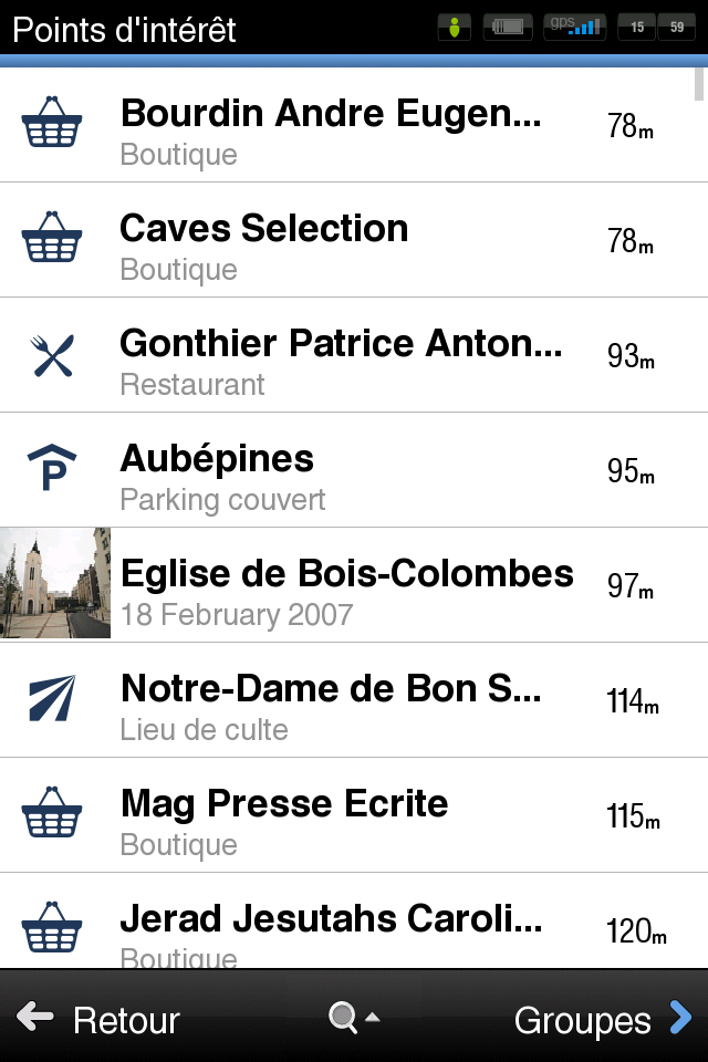 Points intérêt  4 codes à gagner Sygic Aura (29,99€) : un très bon GPS concurrent de TomTom et Navigon