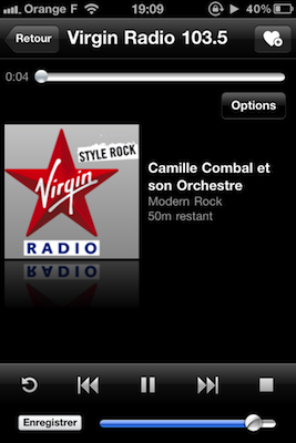 Radio choisie 4 codes à gagner Tuneln Radio (0,79€)   la meilleure application de Radio pour iPhone