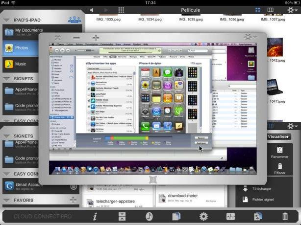 ccp ipad 5 10 codes à gagner de Cloud Connect Pro (19,99€ !!)   Client FTP, VNC/RDP, Dropbox, MobileMe...