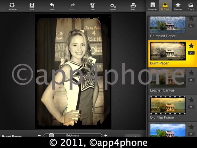 3 codes à gagner de FX Photo Studio HD (iPad)   La meilleure App pour faire des photos originales