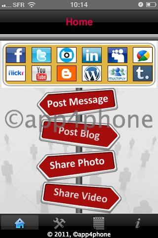 3 codes à gagner de MySocialMedia   Partager du contenu sur plusieurs réseaux sociaux en même temps (0,79€)