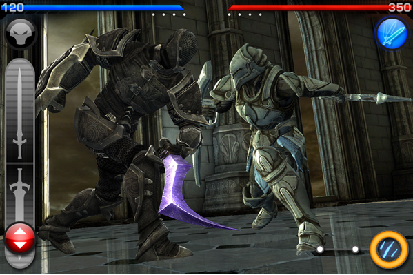 infinity blade arena 2 Le mode multi joueurs dinfinity Blade est enfin disponible !