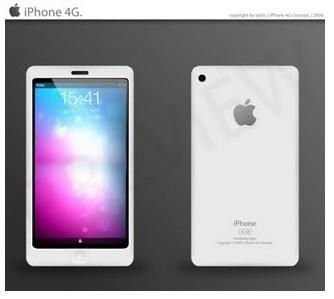 iphone5 blanc Prochain iPhone : 4S et non pas 5 !