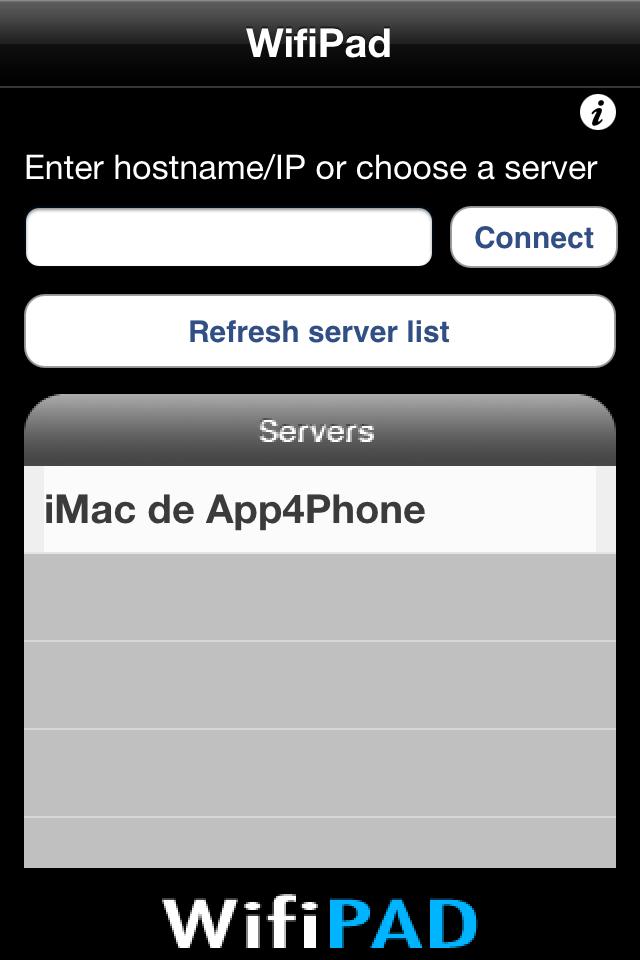 wifipad iphone Astuce : Utiliser gratuitement liPhone en pavé numérique sans fil pour lordinateur