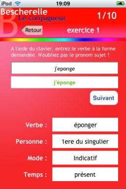 Bescherelle [EDIT] Les bons plans de lApp Store ce mercredi 29 juin 2011