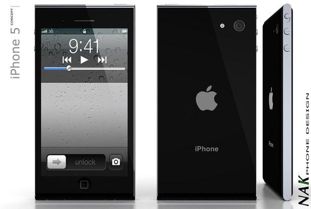 Concept iphone 5 Nak 3 nouveaux concepts pour liPhone 5 dApple