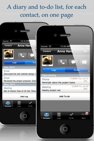 Contacts Journal [EDIT] Les bons plans de lApp Store ce samedi 25 juin 2011