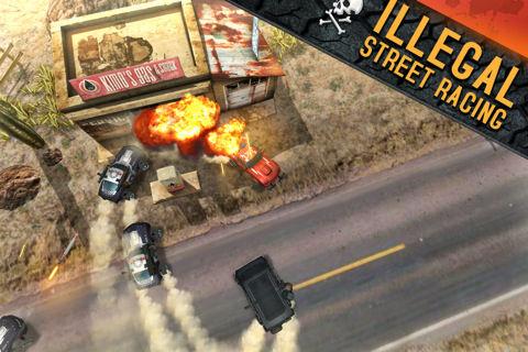 Death Rally1 Les bons plans de lApp Store ce lundi 27 juin 2011 (Bonnes Apps)