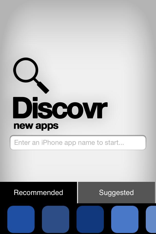 IMG 0043 [Test] Discovr Apps   Découvrez de nouvelles applications grâce à celles que vous possédez déjà! (0,79€)