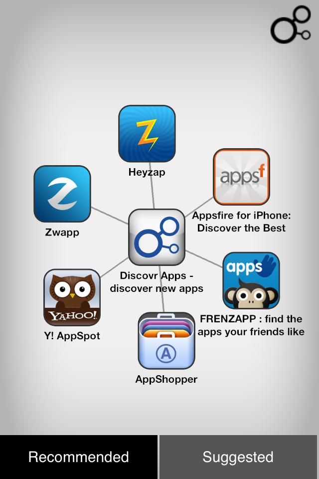 IMG 0045 [Test] Discovr Apps   Découvrez de nouvelles applications grâce à celles que vous possédez déjà! (0,79€)