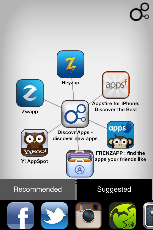 IMG 0046 [Test] Discovr Apps   Découvrez de nouvelles applications grâce à celles que vous possédez déjà! (0,79€)