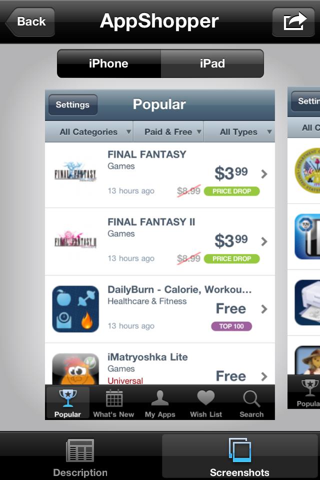 IMG 0049 [Test] Discovr Apps   Découvrez de nouvelles applications grâce à celles que vous possédez déjà! (0,79€)