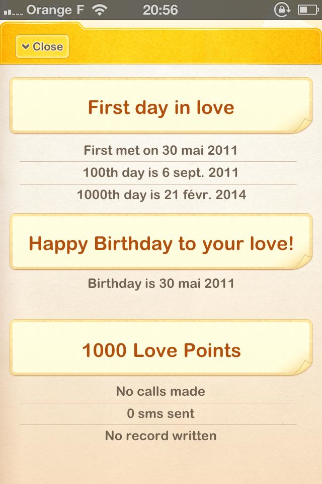 IMG 1081 5 codes à gagner de My Love   Ne négligez plus votre amoureux/amoureuse (2,39€)