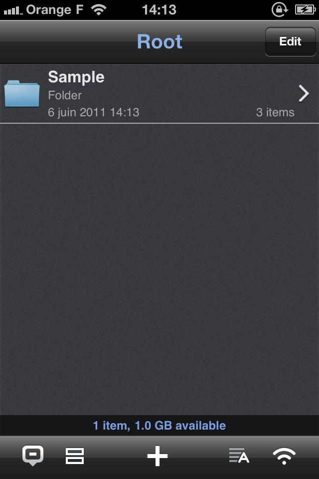IMG 1134 [Test] Phone Drive, gérez et transférez vos fichiers simplement (0,79€)