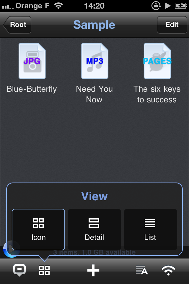 IMG 1141 [Test] Phone Drive, gérez et transférez vos fichiers simplement (0,79€)