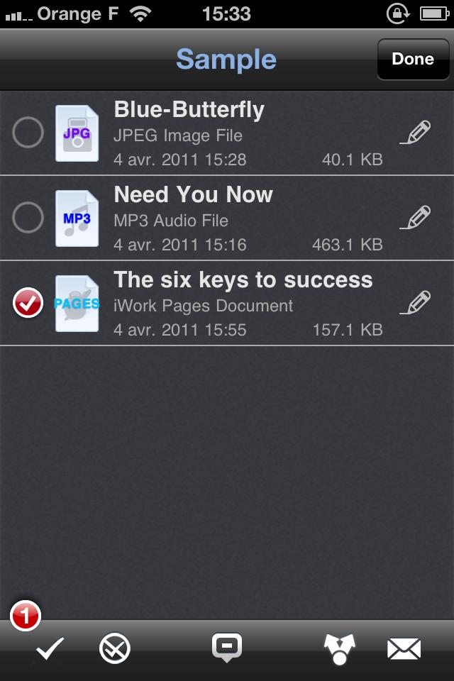 IMG 1146 [Test] Phone Drive, gérez et transférez vos fichiers simplement (0,79€)