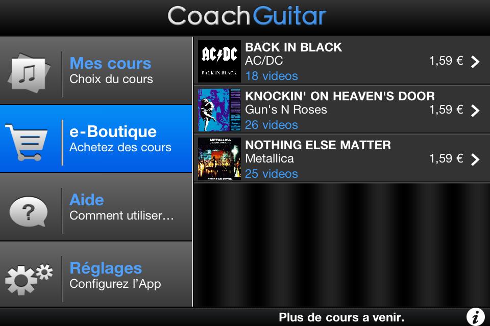 IMG 1194 [Test] CoachGuitar, jouez de la guitare à tous les niveaux (gratuit)