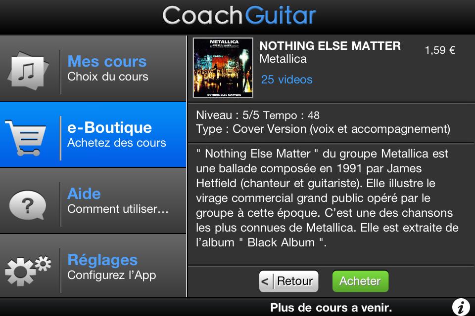 IMG 1195 [Test] CoachGuitar, jouez de la guitare à tous les niveaux (gratuit)