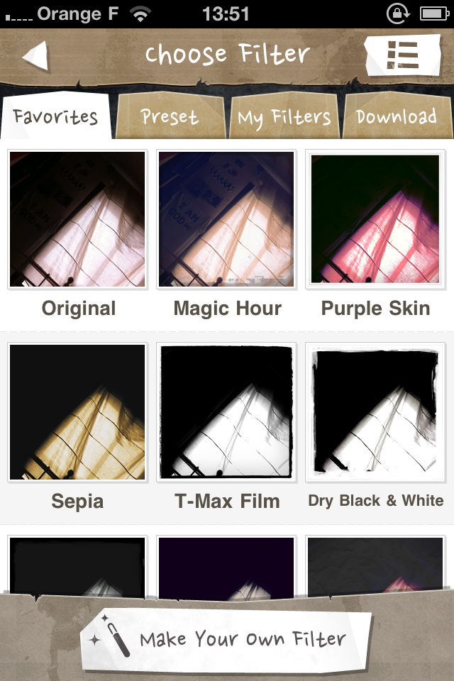 IMG 1226 [Test] Magic Hour, lapplication parfaite pour retoucher vos photos (0,79€)