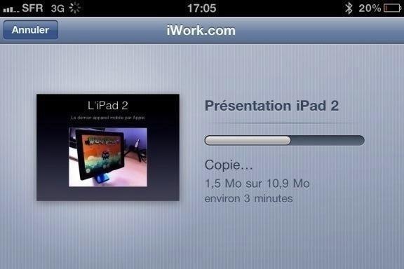 Image keynote 23 Test de iWork 1/3   Keynote, créer des diaporamas de qualité sur iPhone (7,99€)