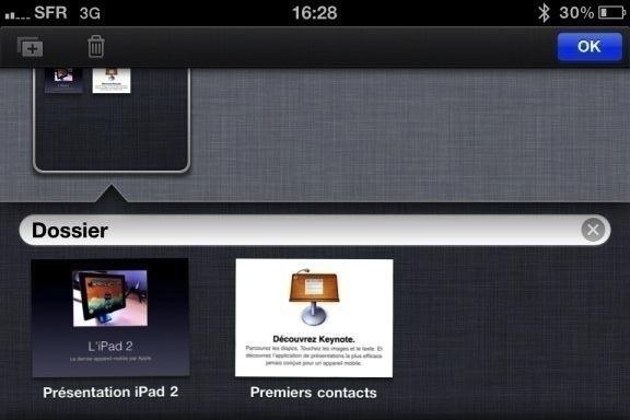 Image keynote 5 Test de iWork 1/3   Keynote, créer des diaporamas de qualité sur iPhone (7,99€)