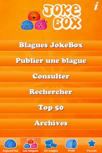 Les Blagues 9 codes à gagner JokeBox (0,79€) : lapplication hilarante remplie de blagues