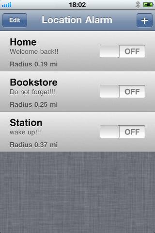 Location alarm Les bons plans de lApp Store ce mardi 21 juin 2011