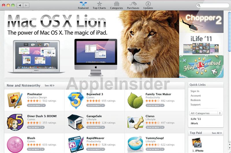 Mac OSX lion [Rumeurs] Apple fournirait iCloud gratuitement avec Mac OSX Lion ?